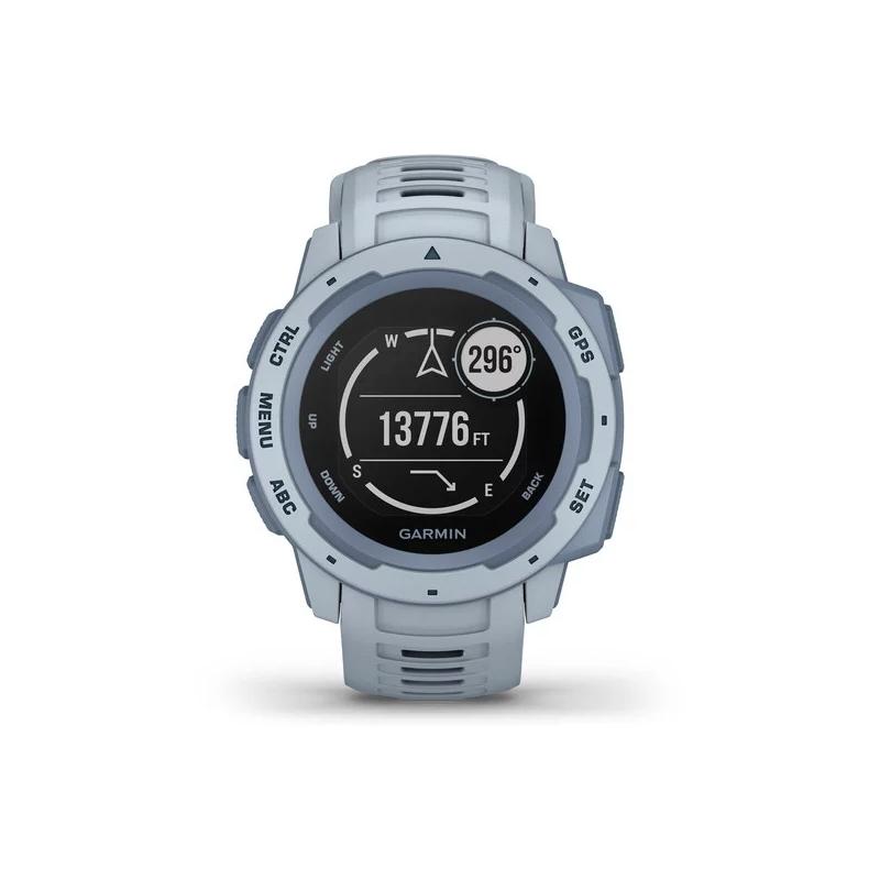 Smartwatch Garmin Instinct™ en azul cielo con GPS, 010-02064-05.