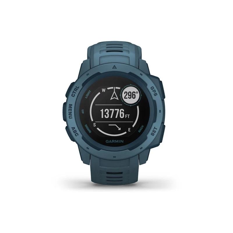 Smartwatch Garmin Instinct™ para hombre en azul con GPS, 010-02064-04.