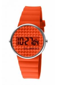 """Reloj Custo """"Chewing Gum"""" en naranja CU046607"""