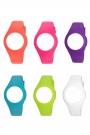 Colores disponibles de las correas de silicona.
