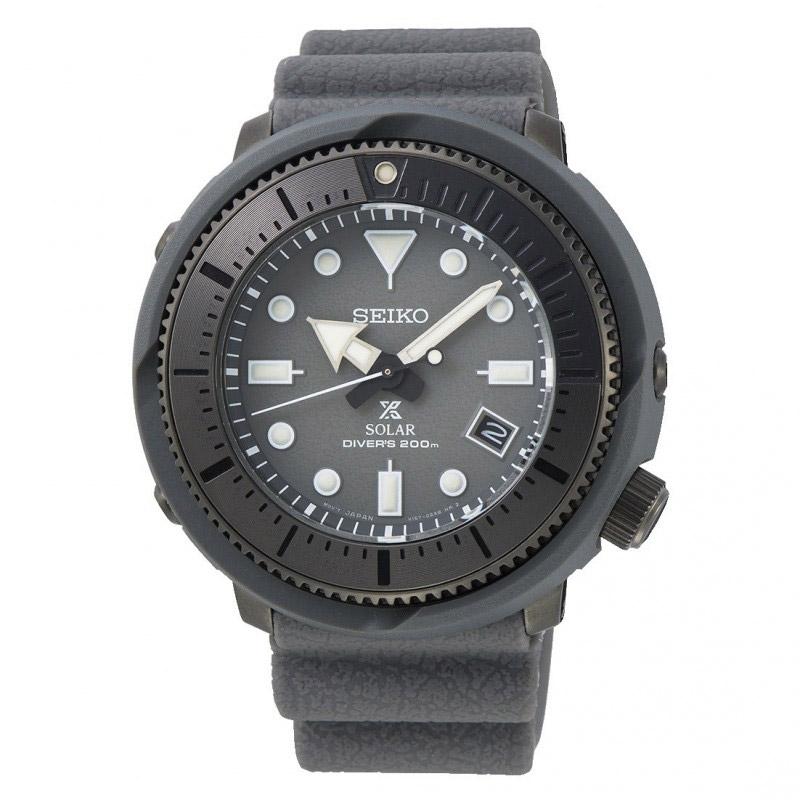 Reloj Seiko Prospex Solar Street Series Gray de hombre, diver´s 200 m. en gris, ref. SNE537P1.