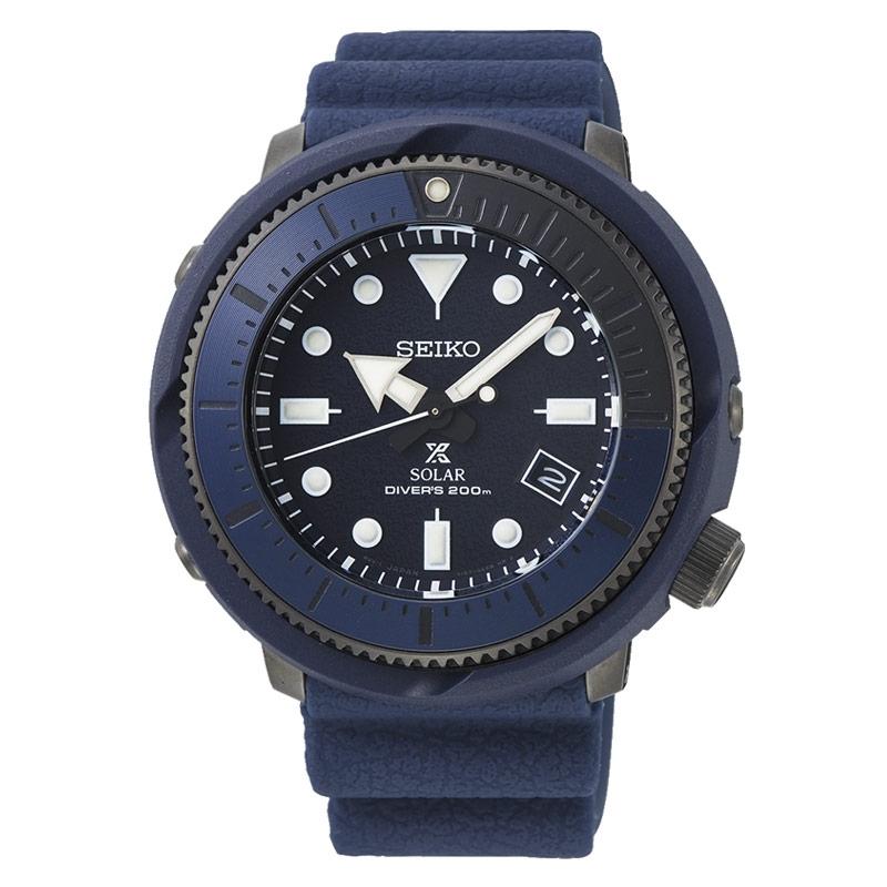 Reloj Seiko Prospex Solar Street Series Blue de hombre, azul diver´s 200m. SNE533P1.