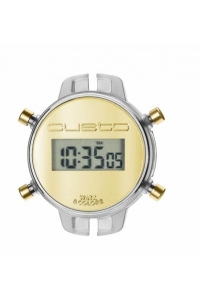 Reloj Watx by Custo digital desmontable metalizado RWA1022