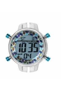 Reloj Watx by Custo digital desmontable azul RWA1026