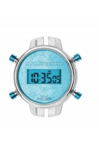 Reloj Watx by Custo digital desmontable azul RWA1031