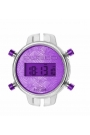 Reloj Watx by Custo digital desmontable morado RWA1032