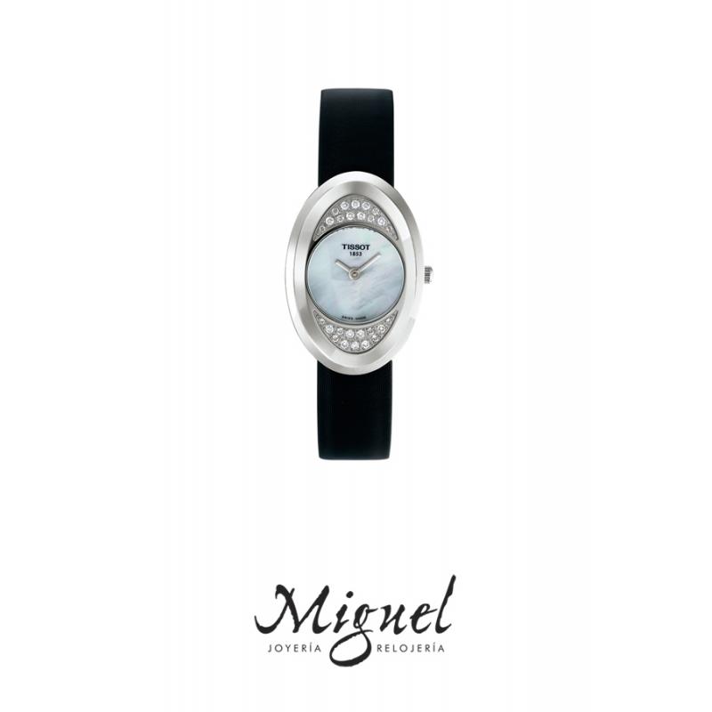 Reloj Tissot para mujer con diamantes T-Trend T03112580