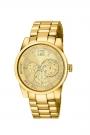 "Reloj Custo ""Lady Sport"" en acero chapado CU040203"