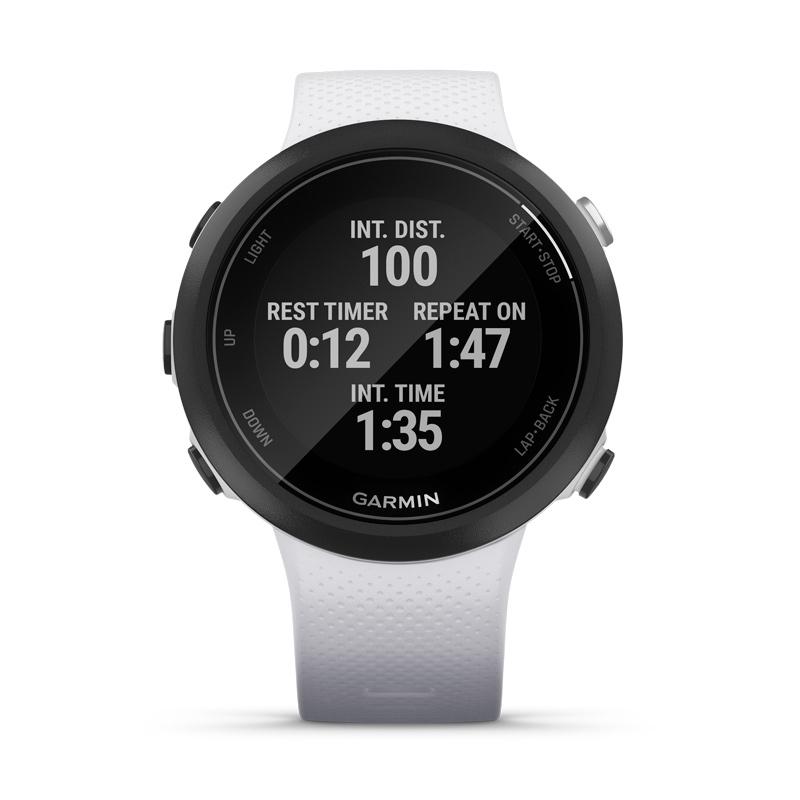 Reloj Garmin Swim™ 2 de natación con GPS en blanco, 010-02247-11